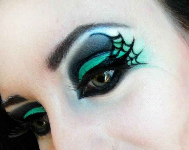 Halloween Make-up Tipps Damen