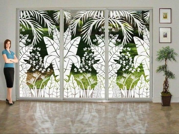 Hochwertige Sonnenschutzfolien für Türen