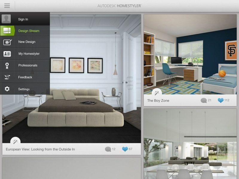 kostenloser online Raumgestalter Homestyler