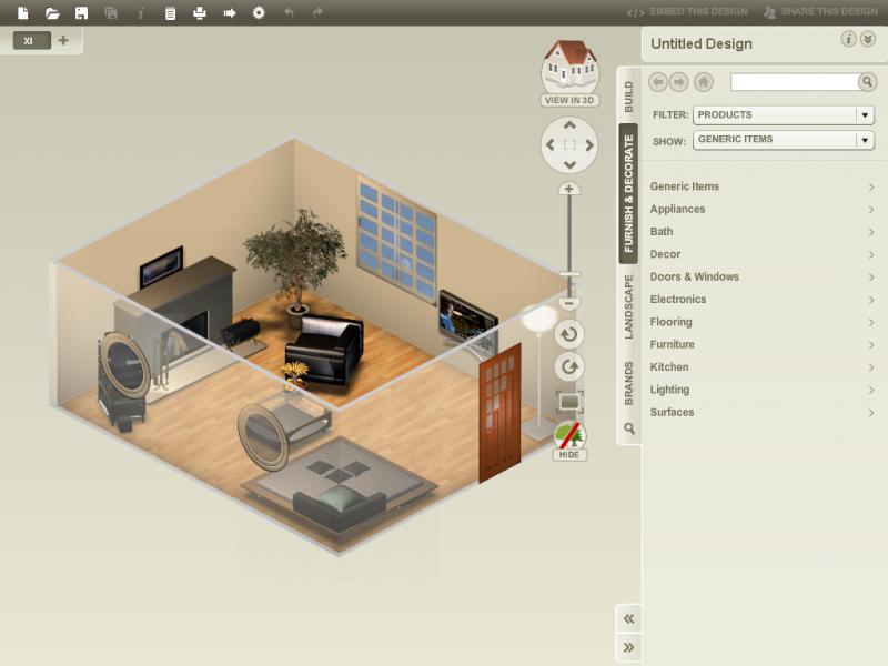 kostenloser Raumgestalter online Homestyler