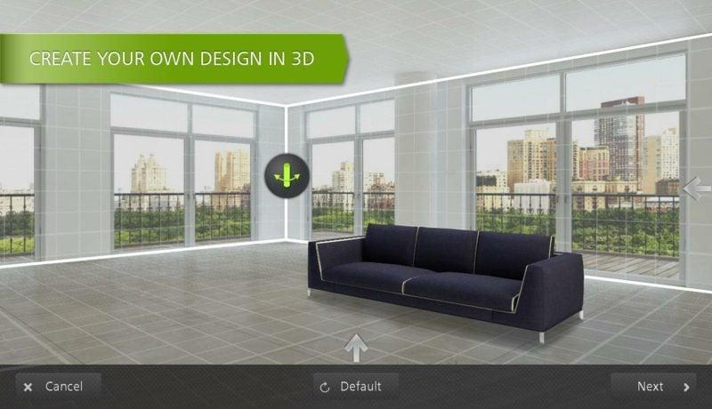 Homestyler Raumplaner 3D online Innendesign