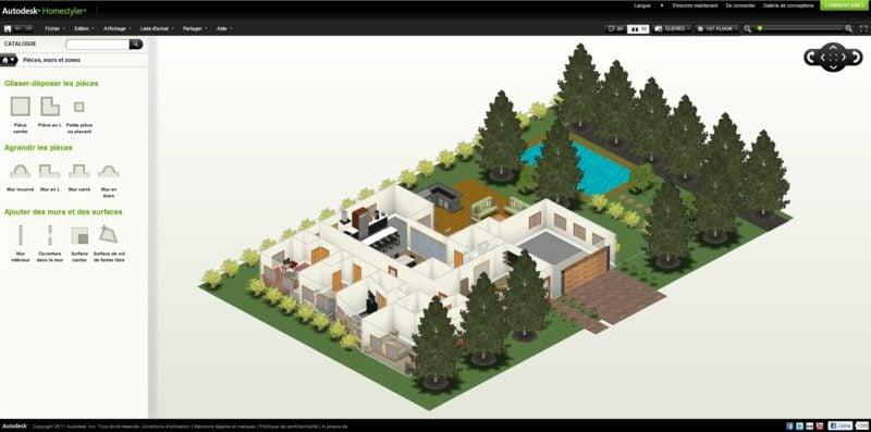 Raumgestalter Homestyler online planen projektieren