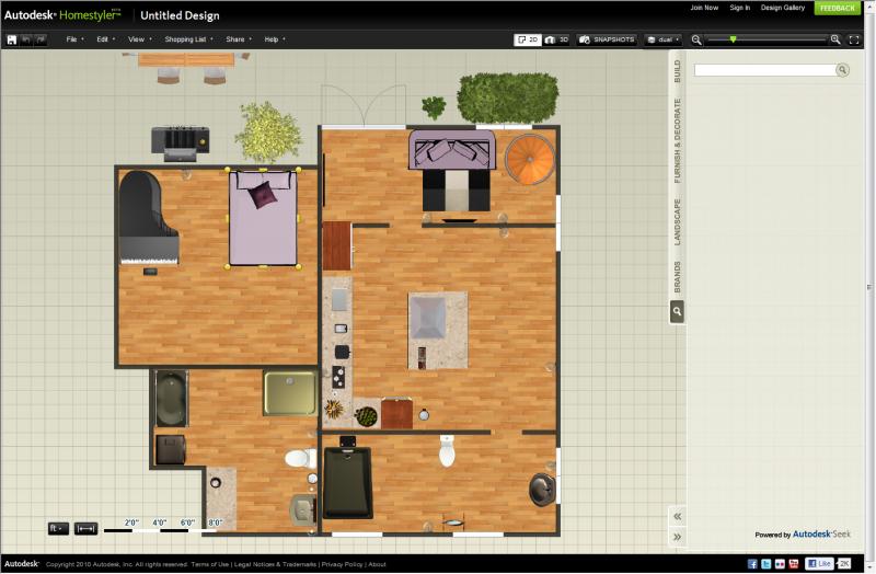 Software Innendesign Homestyler 3D kostenlos