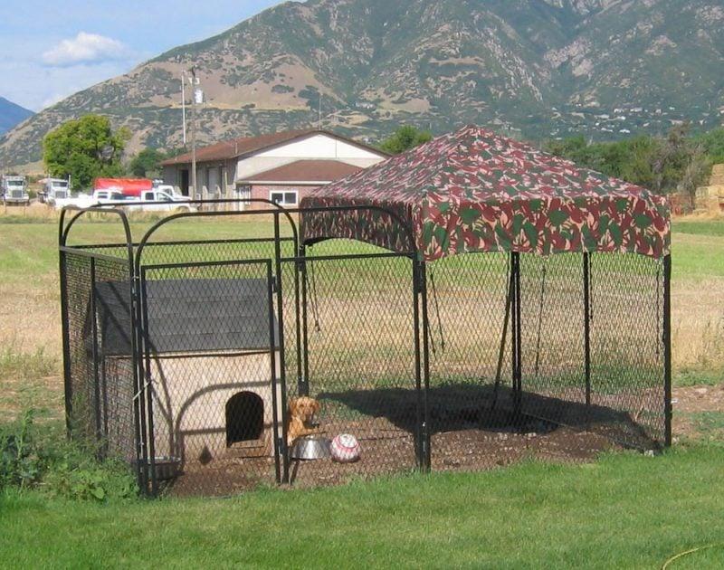 Hundezwinger selber bauen ist harte Aufgabe!