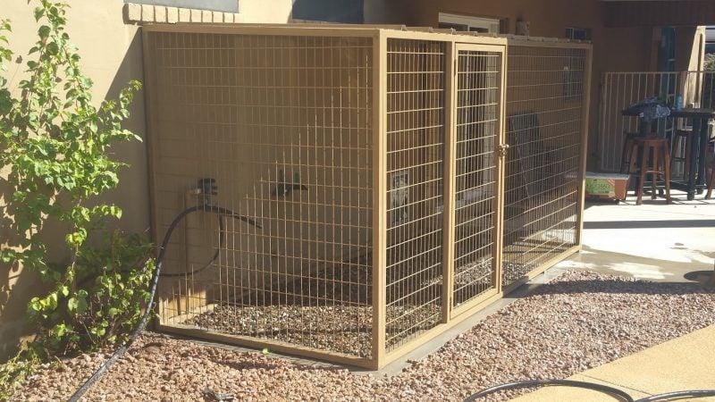 Hundezwinger selber bauen: Hunde werden sich freuen!