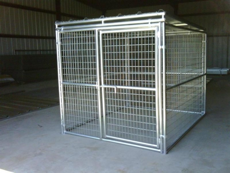 Hundezwinger selber bauen: aus Metall!
