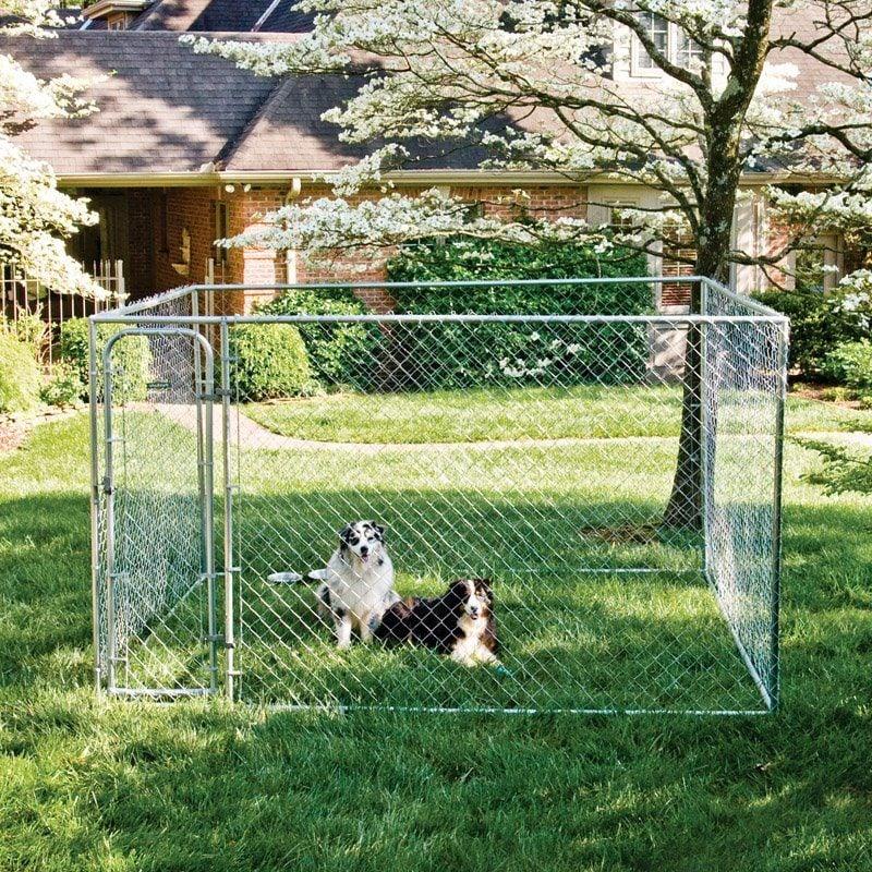 Hundezwinger selber bauen nach dem eigenen Geschmack!