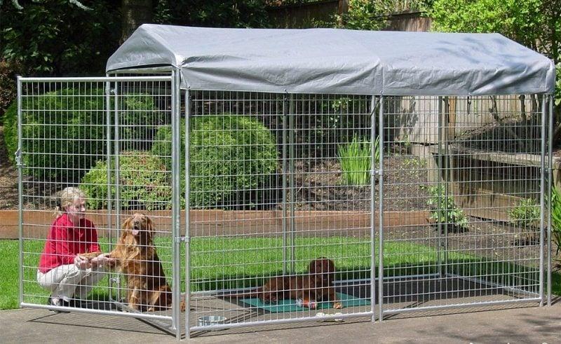 Hundezwinger selber bauen oder kaufen!