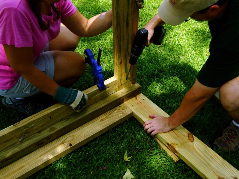 Hundezwinger selber bauen: Schritt 5