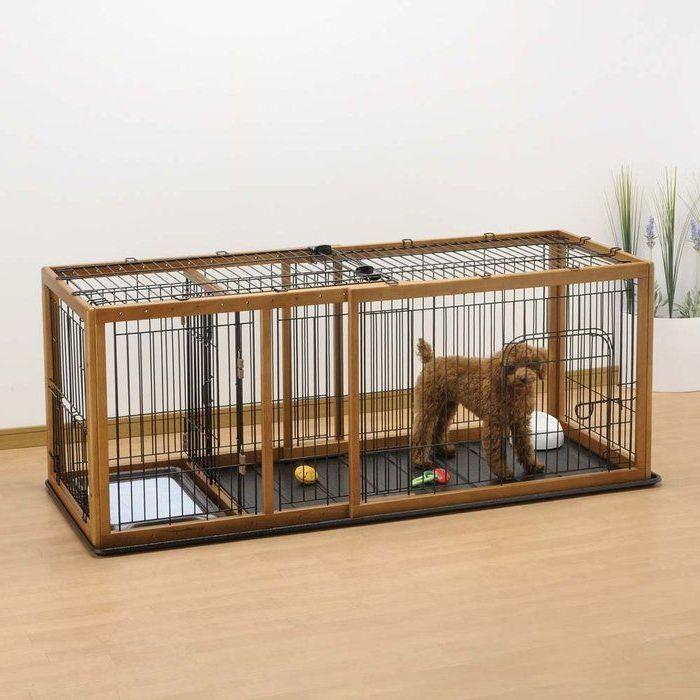 Hundezwinger selber bauen für die kleinen Hunde!