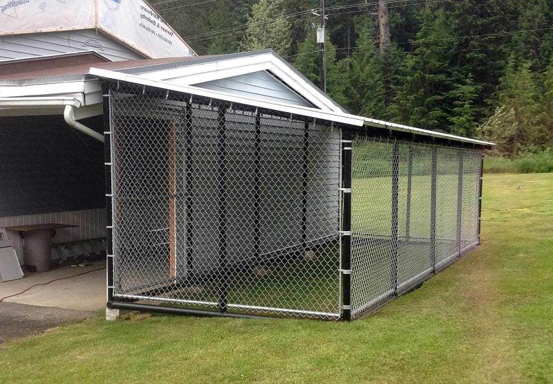 Hundezwinger selber bauen:Planung