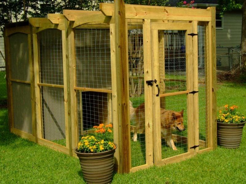Hundezwinger selber bauen:Schritt 13