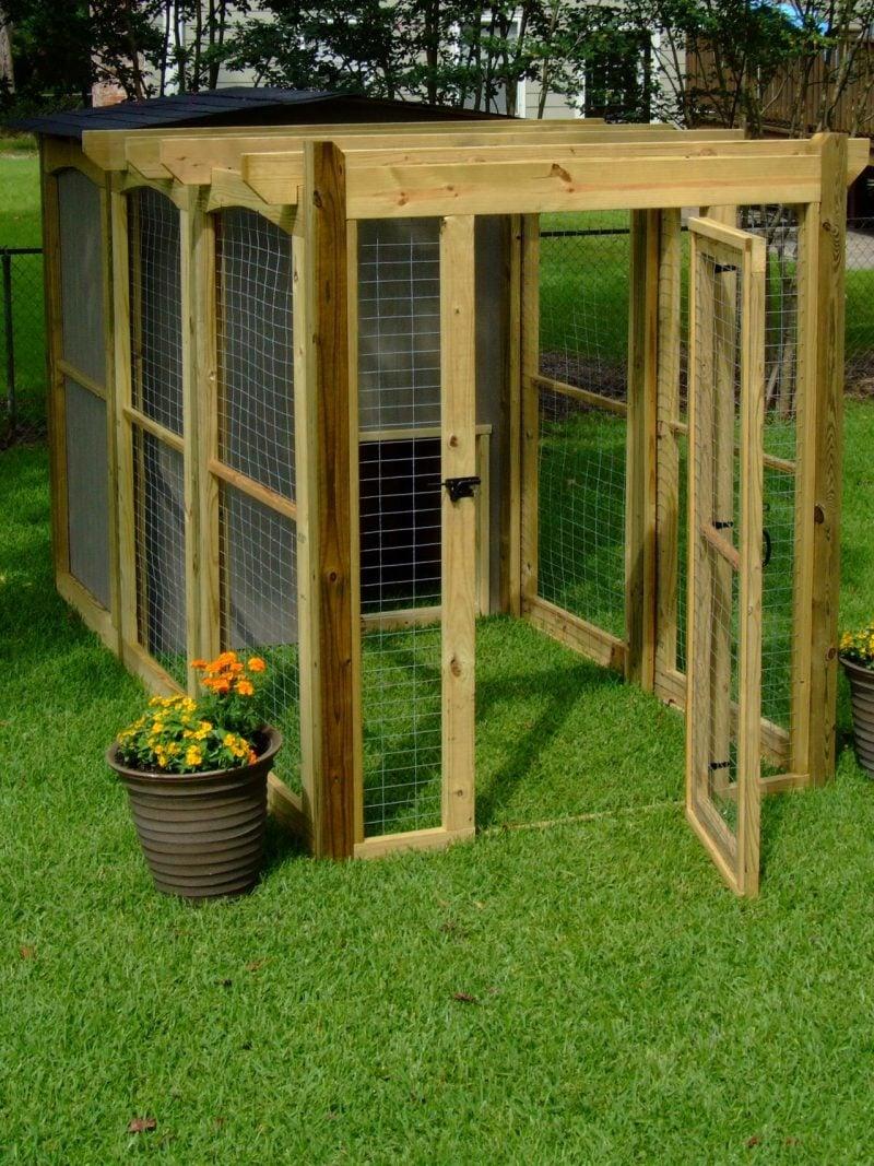 Hundezwinger selber bauen: Schritt 12