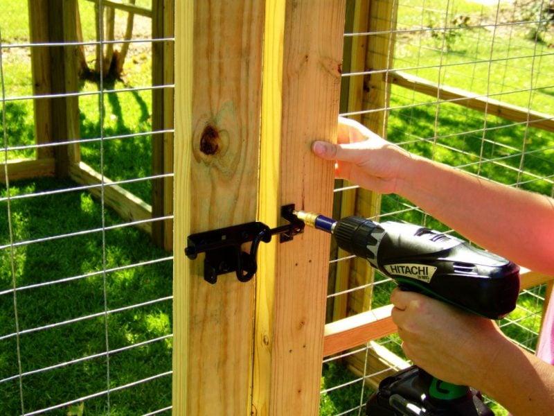 Hundezwinger selber bauen:Schritt11