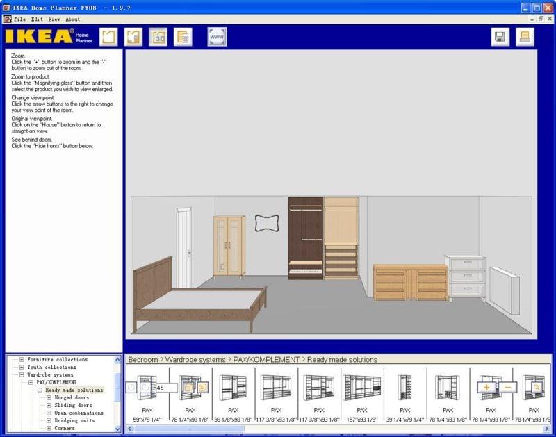 kostenloser Raumgestalter IKEA Home Planer