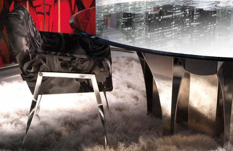 Italienische Designermöbel: Moderner Stuhl!