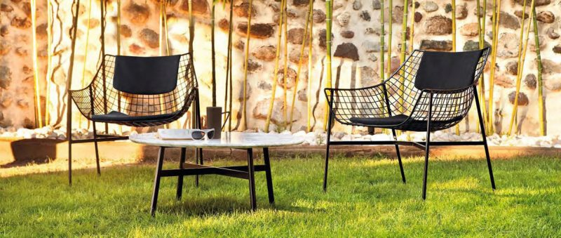 Italienische Designermöbel für den Garten!