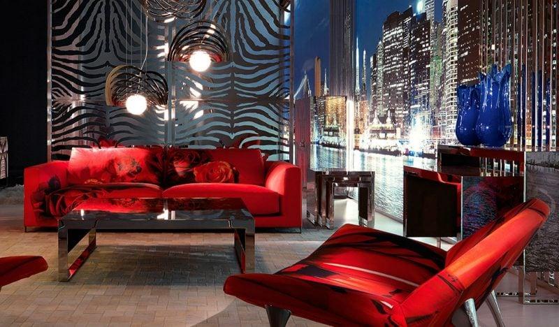 Die Farbenvielfalt der italienischen Designermöbel!