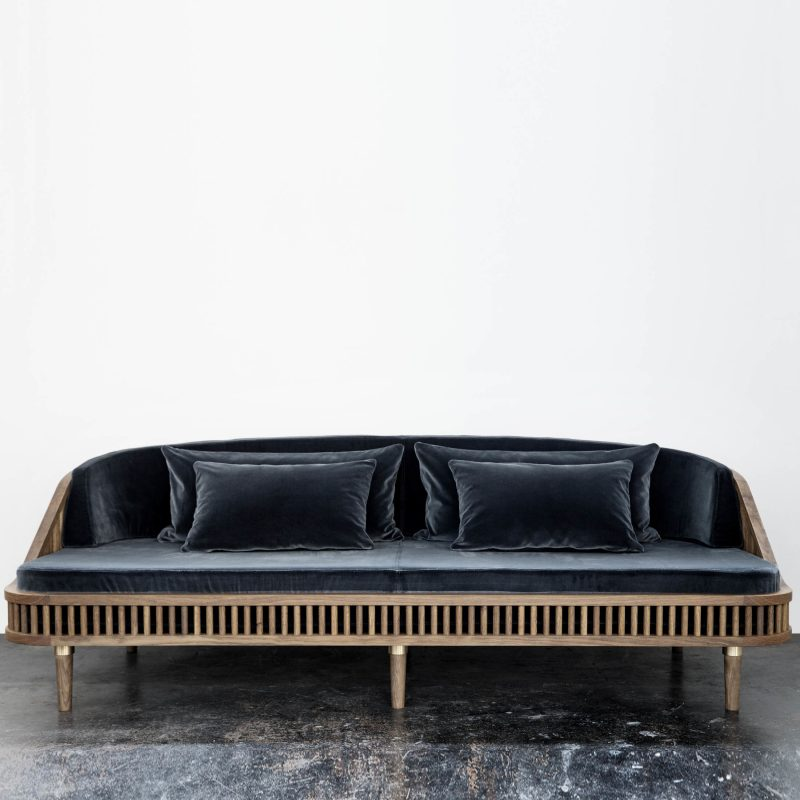 Italienische Designermöbel: Sofa in Blau!