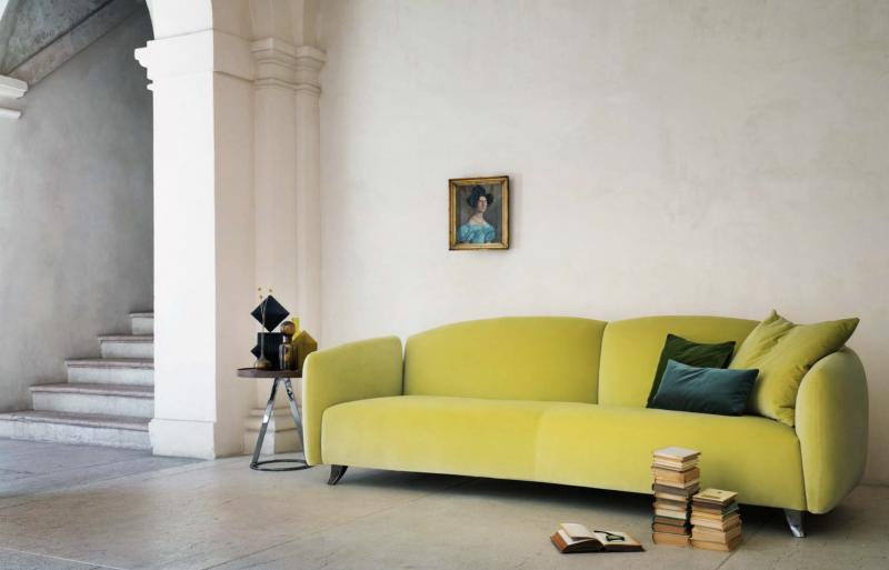 Italienische Designermöbel: Sofa in Grün!