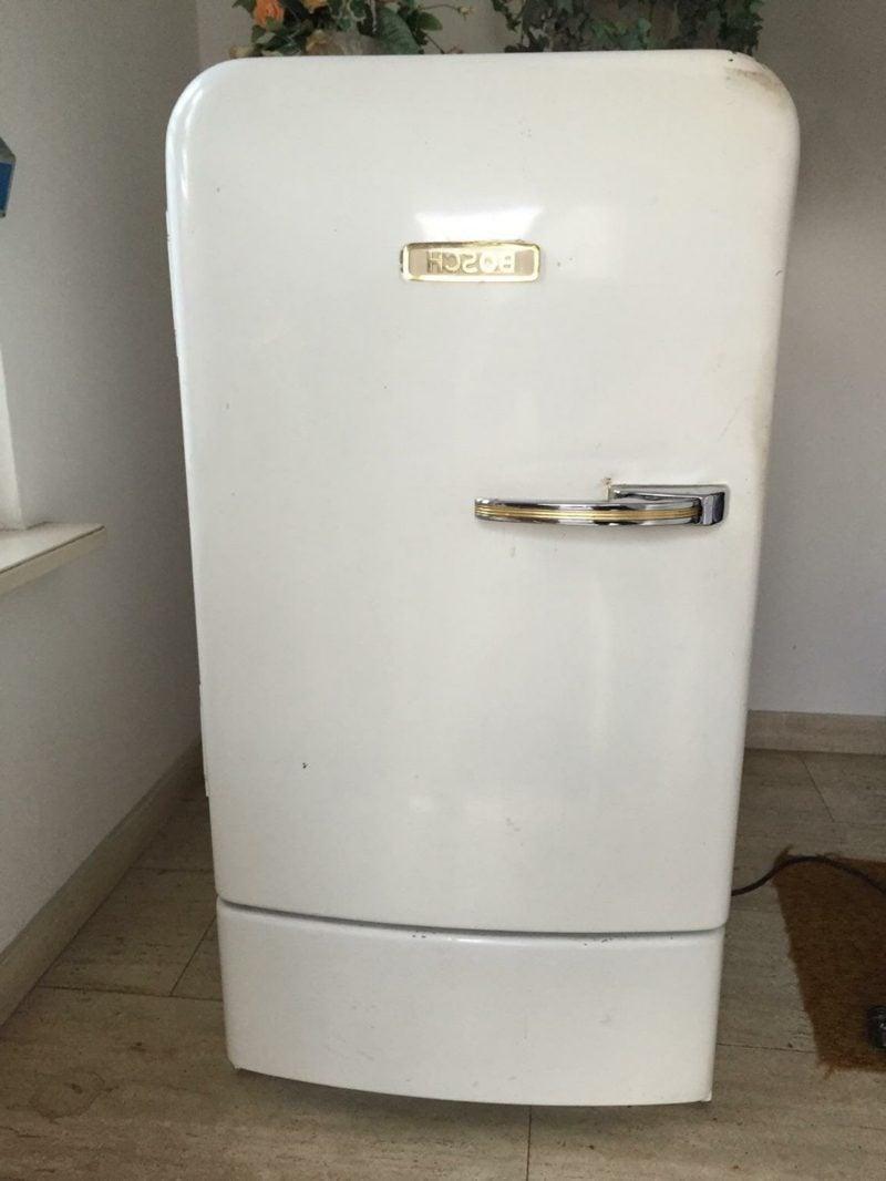 Retro Kühlschrank Bosch weiss klassischer Look