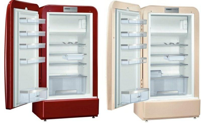 Retro Kühlschrank Bosch zwei herrliche Modelle Innenraum