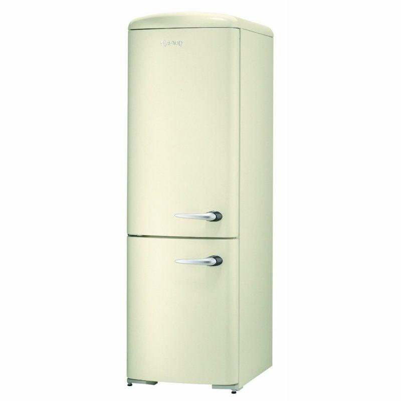 Retro Kühlschrank gross weiss