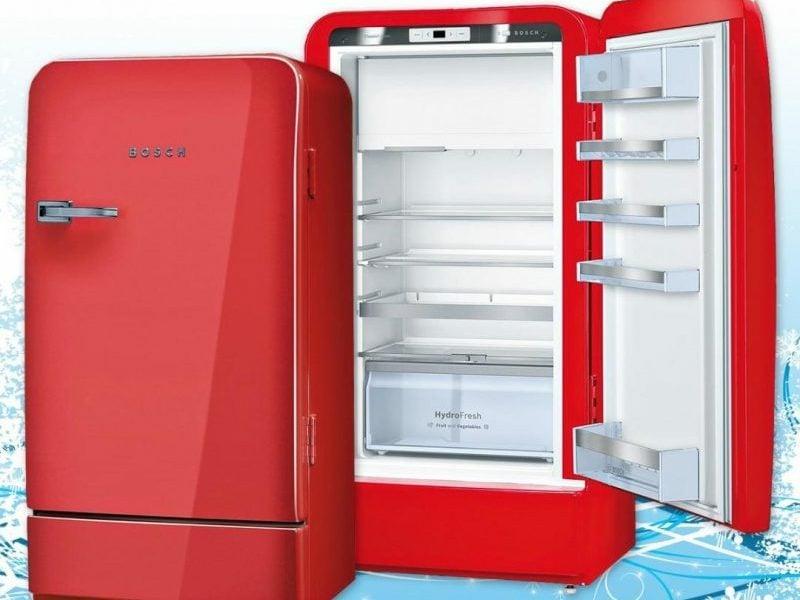 Vintage Kühlschrank Klein : Bosch retro kühlschrank als akzent in der kücheneinrichtung: 20 ideen