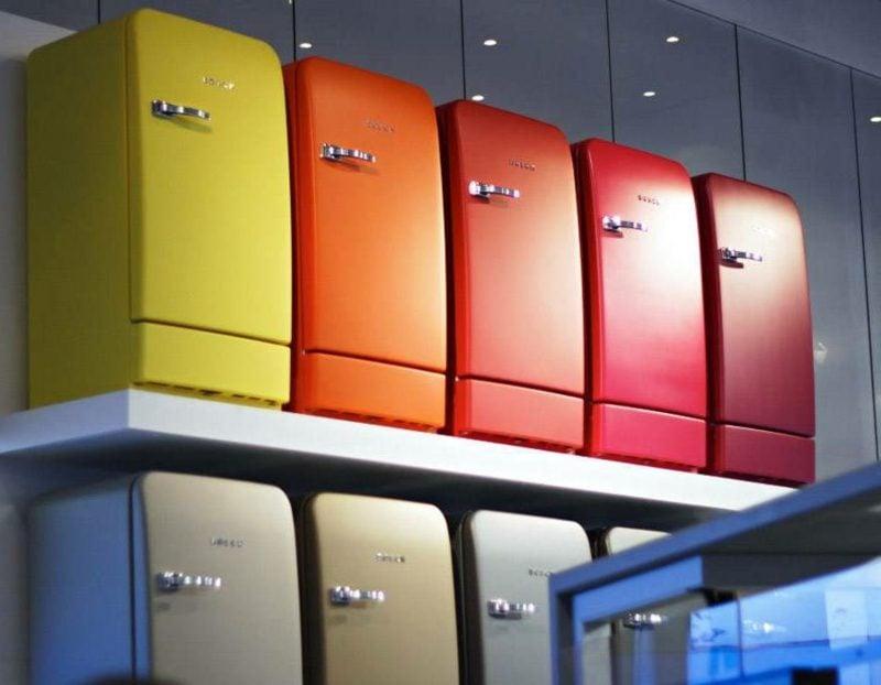 Retro Kühlschrank Bosch Vielzahl an unterschiedlichen Farben und Nuancen
