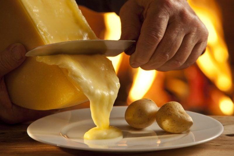 Kartoffeln eignen sich als Käsefondue Beilagen!