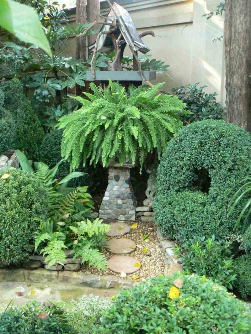 Gartengestaltung Ideen Wahl der Pflanzenarten