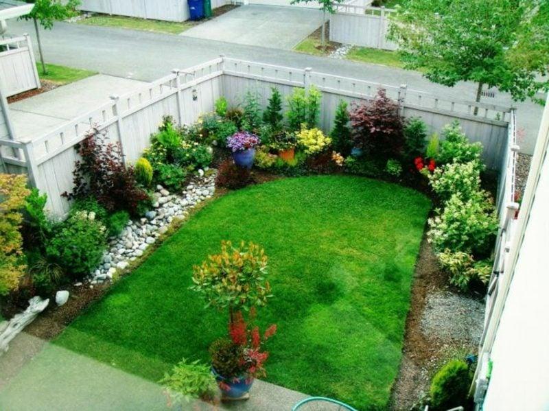 Wunderbar Gartengestaltung Ideen Kleingarten