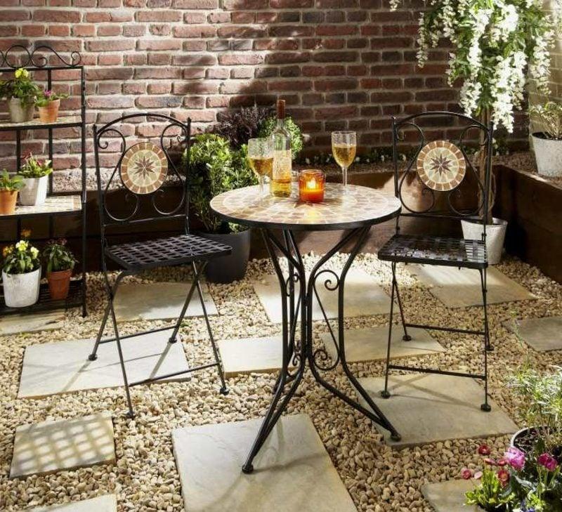 Gartengestaltung Ideen Sitzecke im Garten
