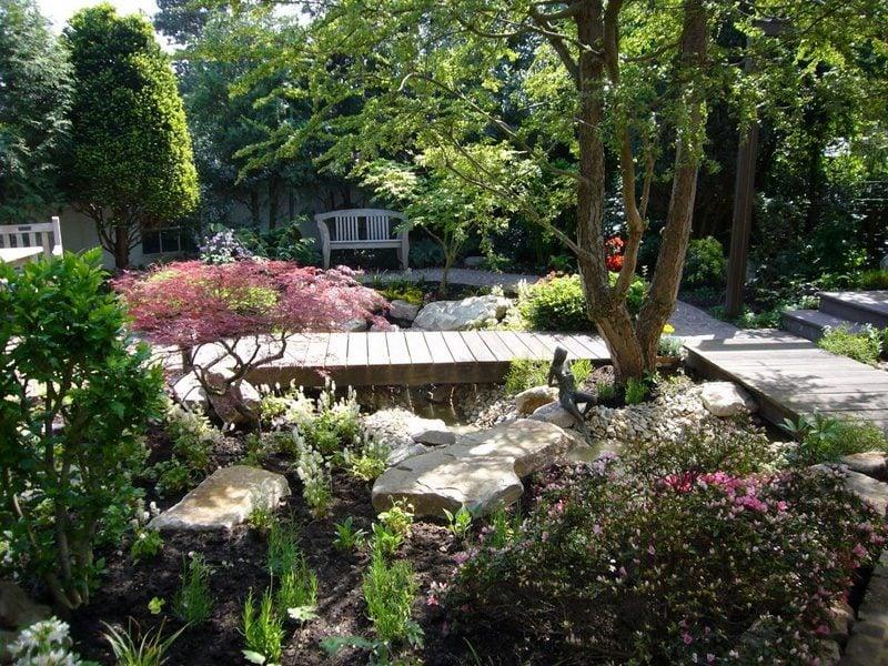 Kreative Gartengestaltung Ideen Kleingarten Herrlicher Look