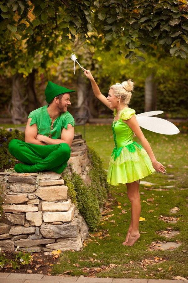 Kostüme für zwei Peter Pan Kostüm fasching ideen gruppenkostüm fasching