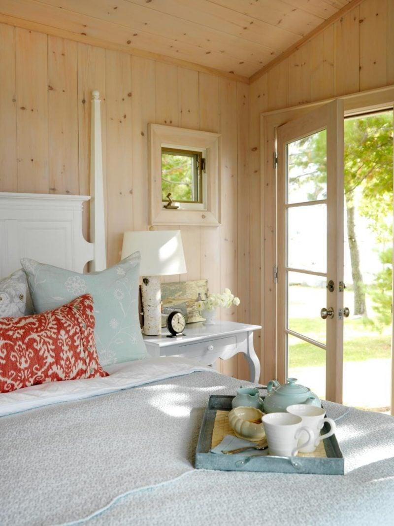 Landhaus möbel weiß nachttisch holz schlafzimmer einrichten design landhausstil möbel