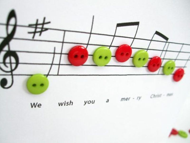 Weihnachtslieder singen kreative Ideen zu Weihnachten