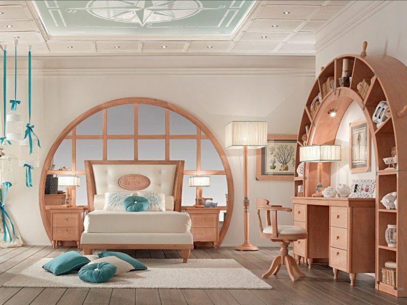 Schlafzimmer einrichten maritimer Stil einzigartig