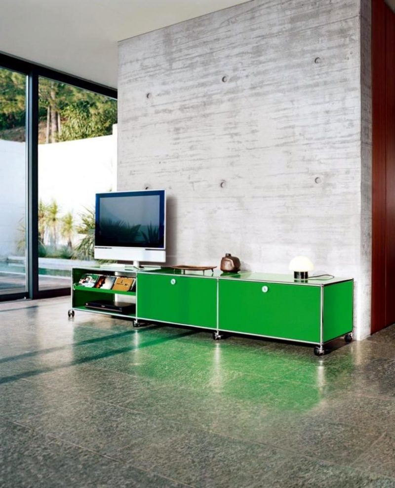 Setzen Sie auf Mediamöbel in Grün!