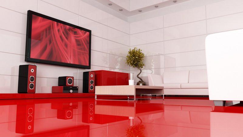 Mediamöbel in Rot: Inspiration für die Gestaltung Ihrer Wohnung!