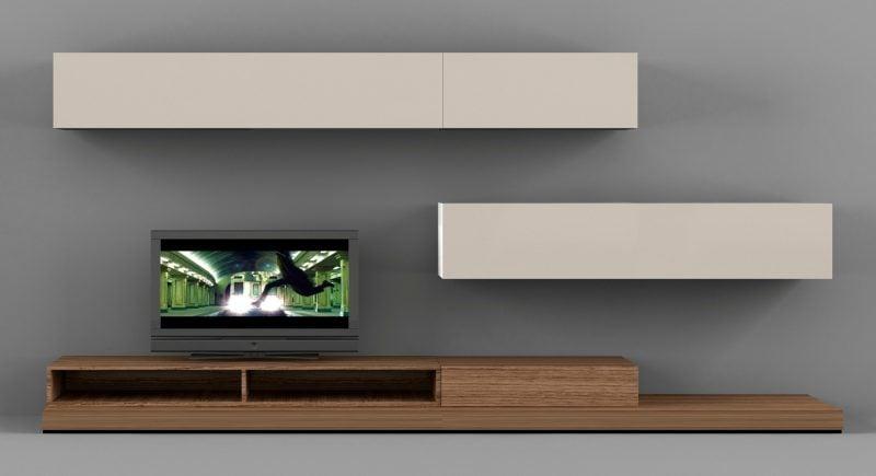Mediamöbel mit chramantem Design für entspanntes Heimkino!