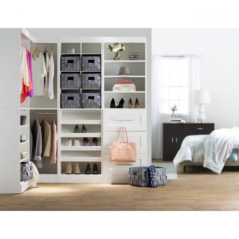 Moderner begehbarer Kleiderschrank für moderne Einrichtung
