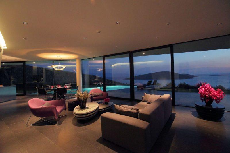 Moderne bodentiefe Fenster in Szene setzen!