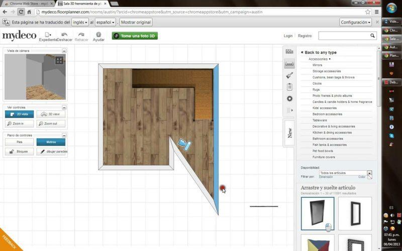 kostenloser Raumgestalter 3D My Deco