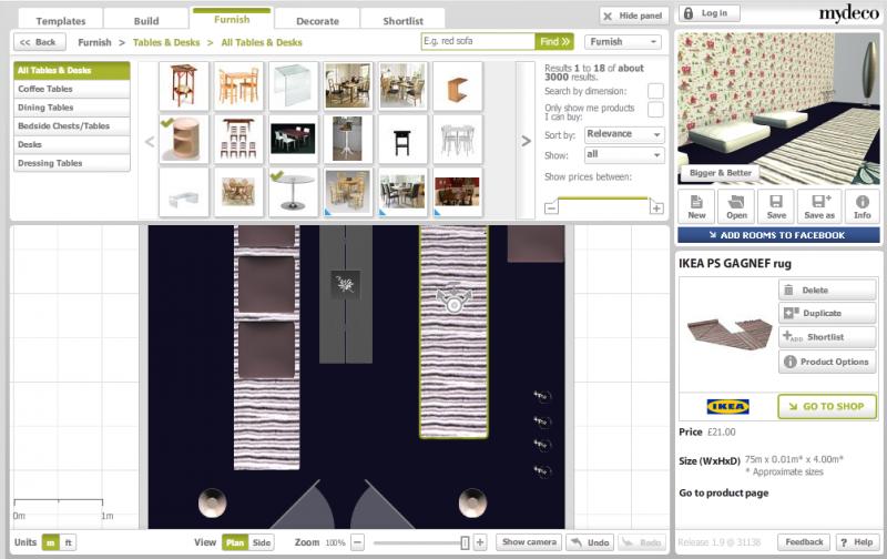 Innendesign Ideen Raumgestalter online My Deco