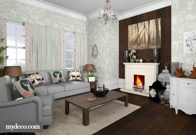 Raumgestalter My Deco Wohnzimmer herrliche Designideen