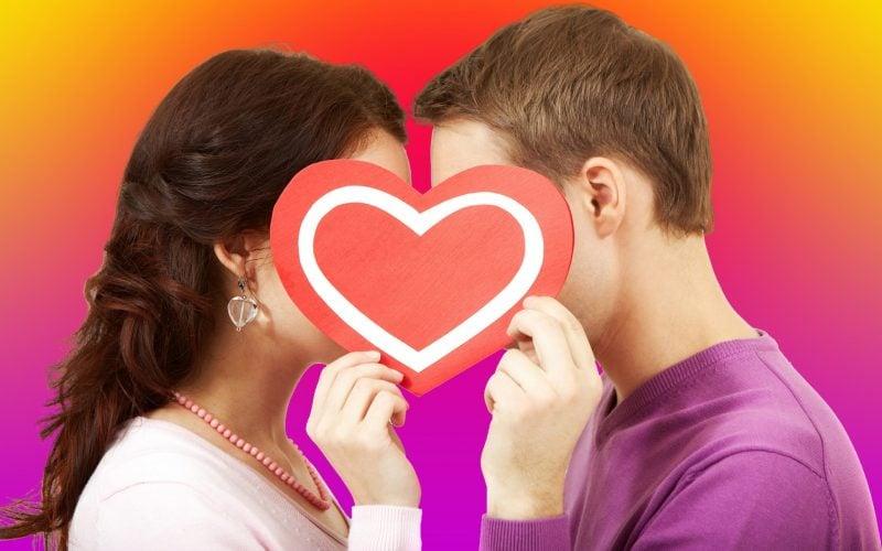 Herz-Motive passen immer perfekt zum Valentinstag!