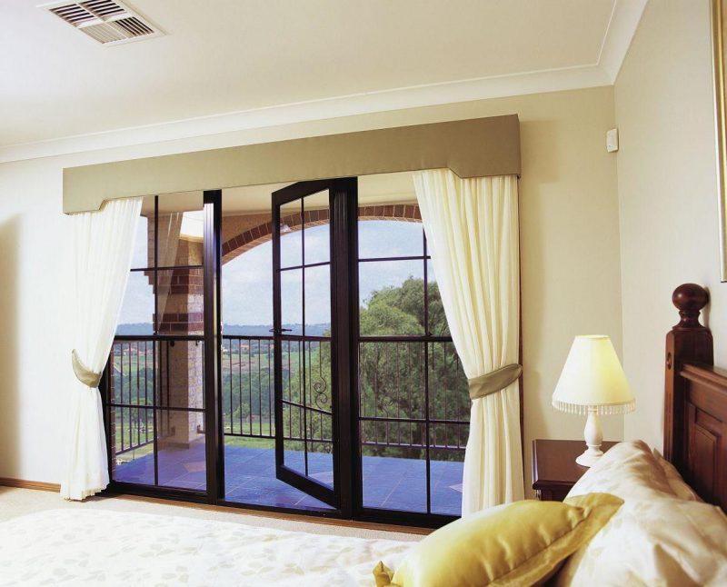 Perfekte Gardinen für bodentiefe Fenster