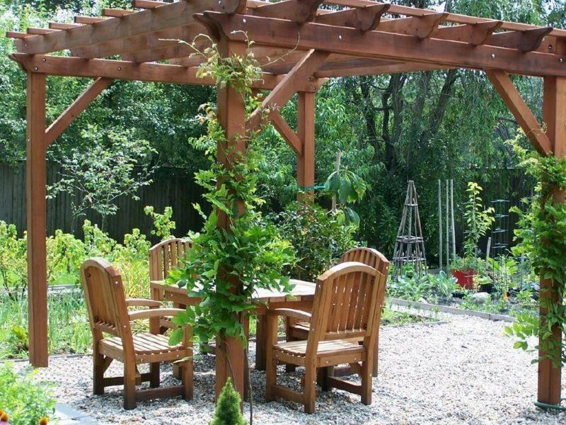 Gartengestaltung Ideen Pergola