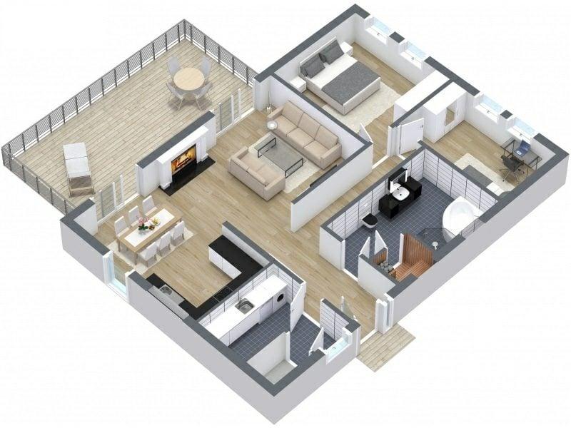 RoomSketcher Raumgestalter 3D kostenlos
